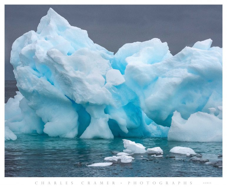 Iceberg Detail,  Pleneau  Bay, Antarctic Peninsula