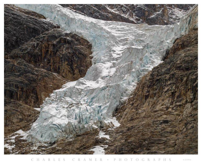 Angel Glacier, Below Mt. Edith Cavell, Jasper National Park, Canada