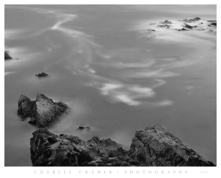 Wave Patterns, Dusk, Big Sur Coast