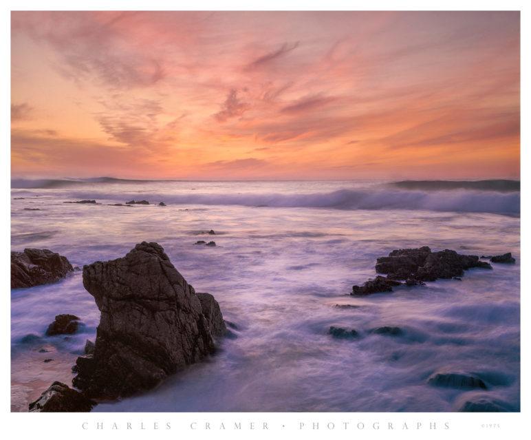 Carmel Sunset, near Point Joe, 1975