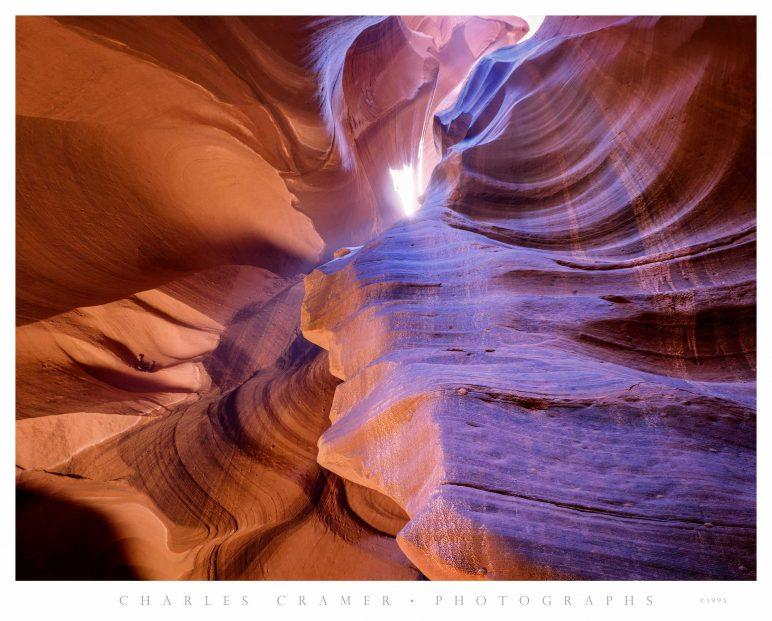 Overhead Spiral, Antelope Canyon, Arizona