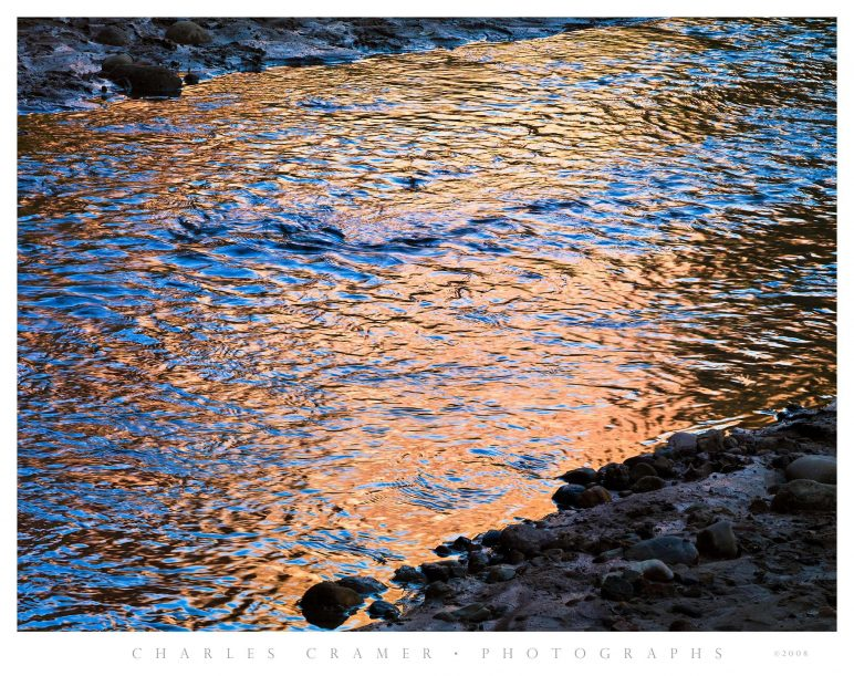 Creek Reflections, Harris Wash, Utah