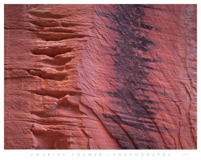 Canyon Wall Detail, Kolob Canyon, Utah