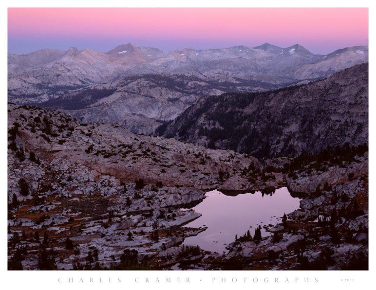 Dawn, Clark Range, Yosemite