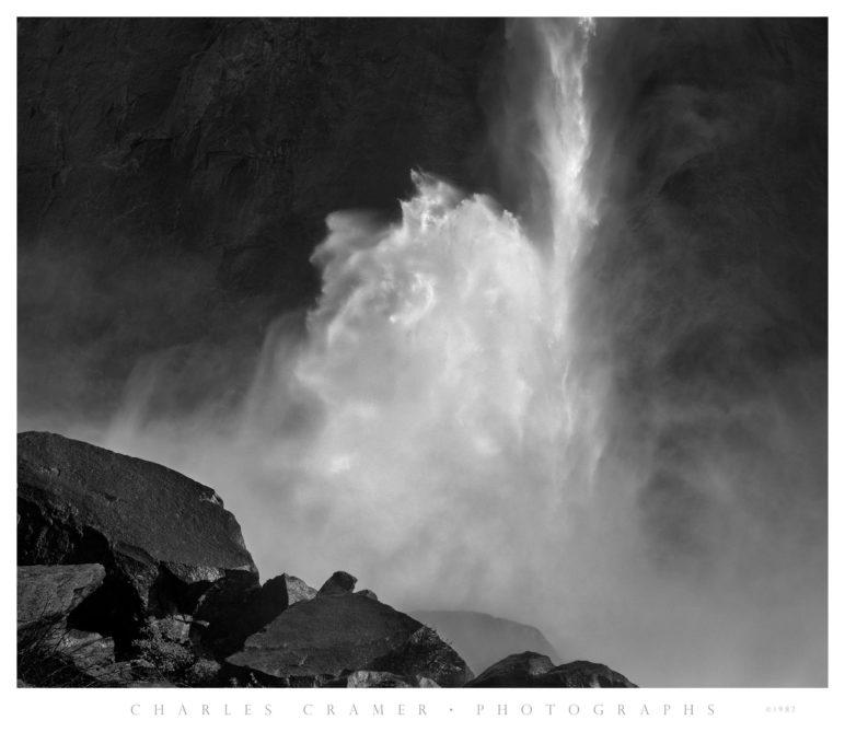 Base of Lower Yosemite Fall, Spring