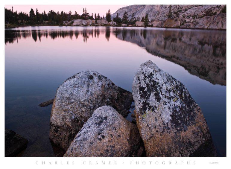 Dawn, Boothe Lake, Yosemite
