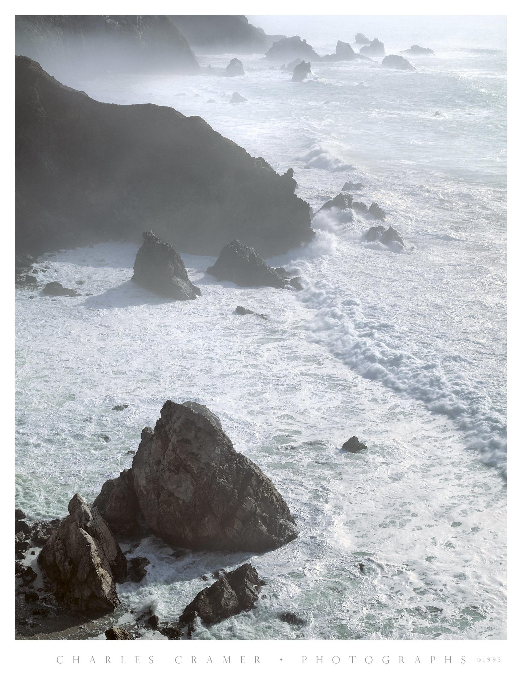 Morning Mist,  Big Sur Coast