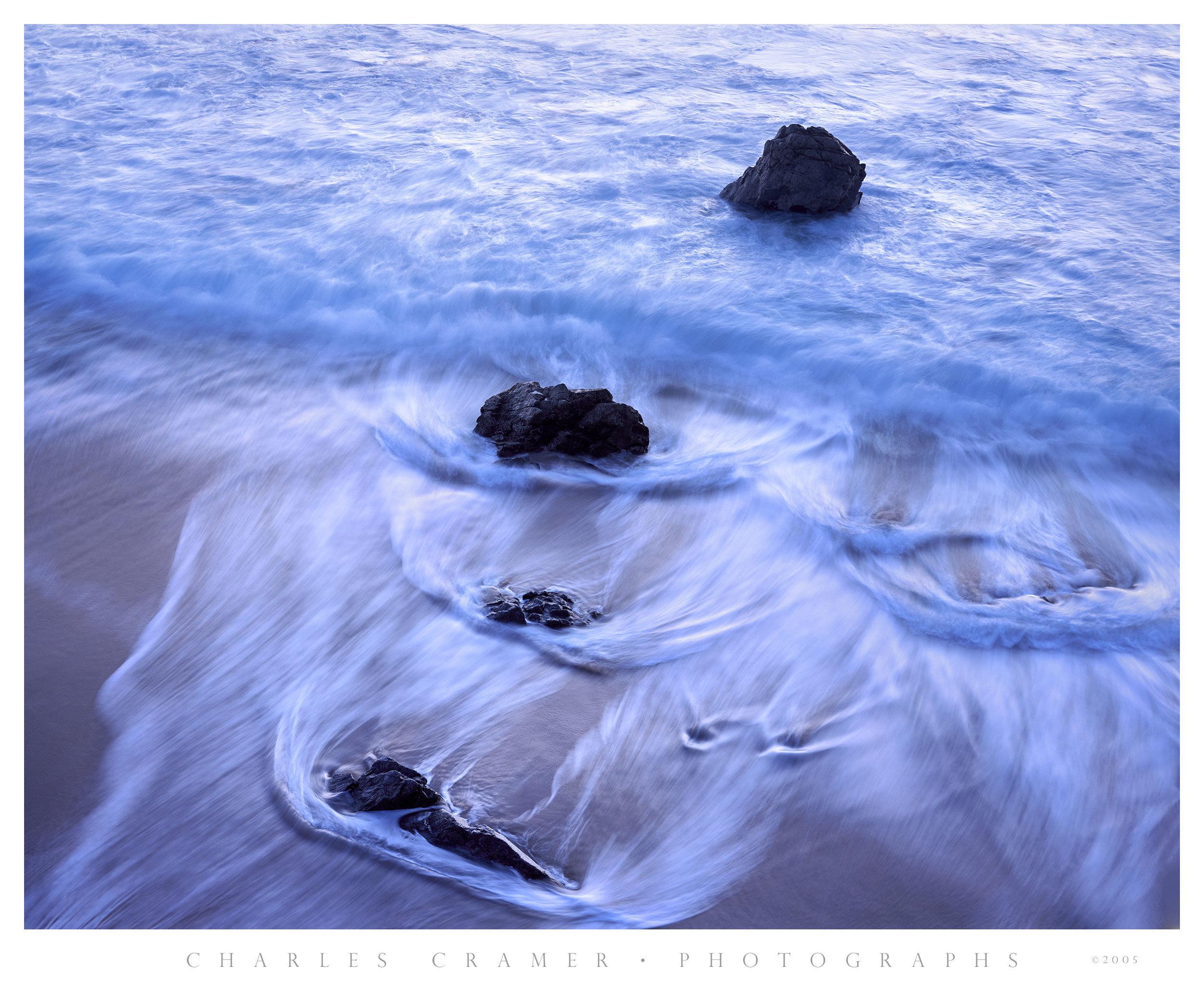 Garrapata Beach, Last Light, California