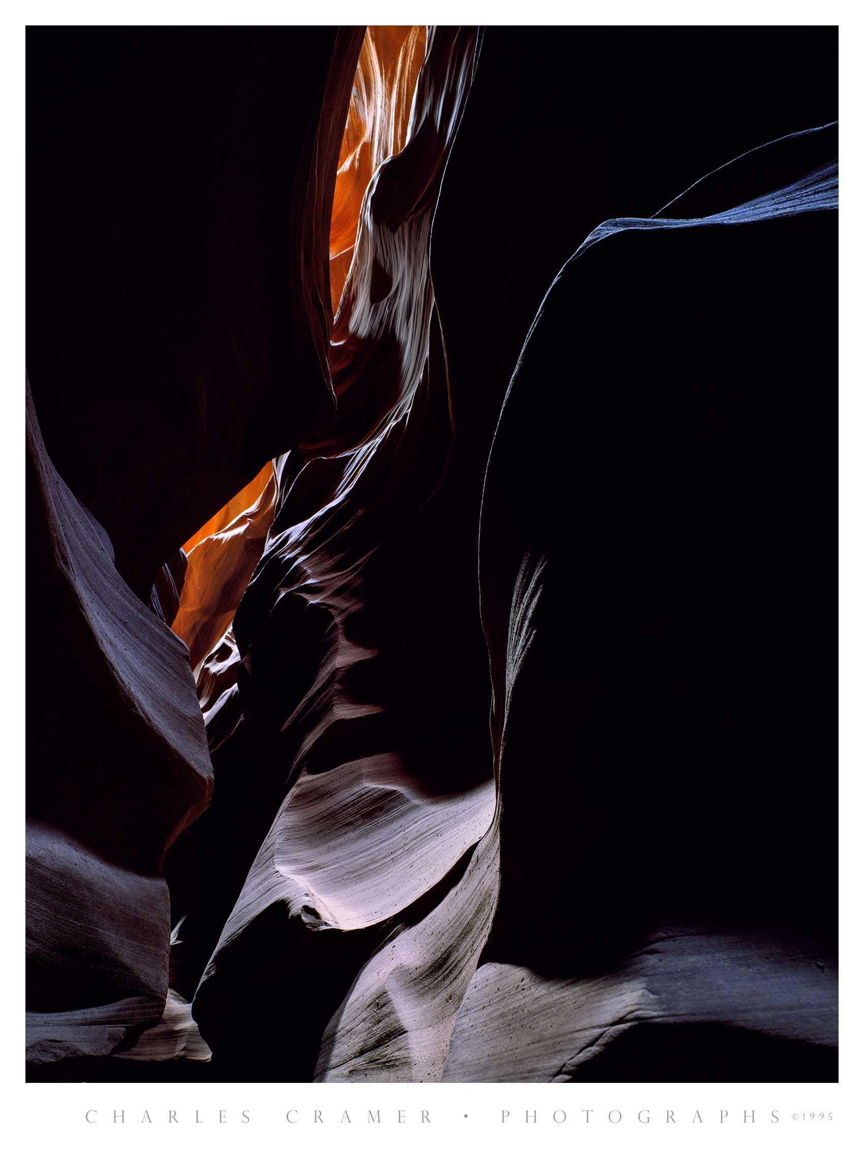 The  Blue Ledge , Antelope Canyon, Arizona