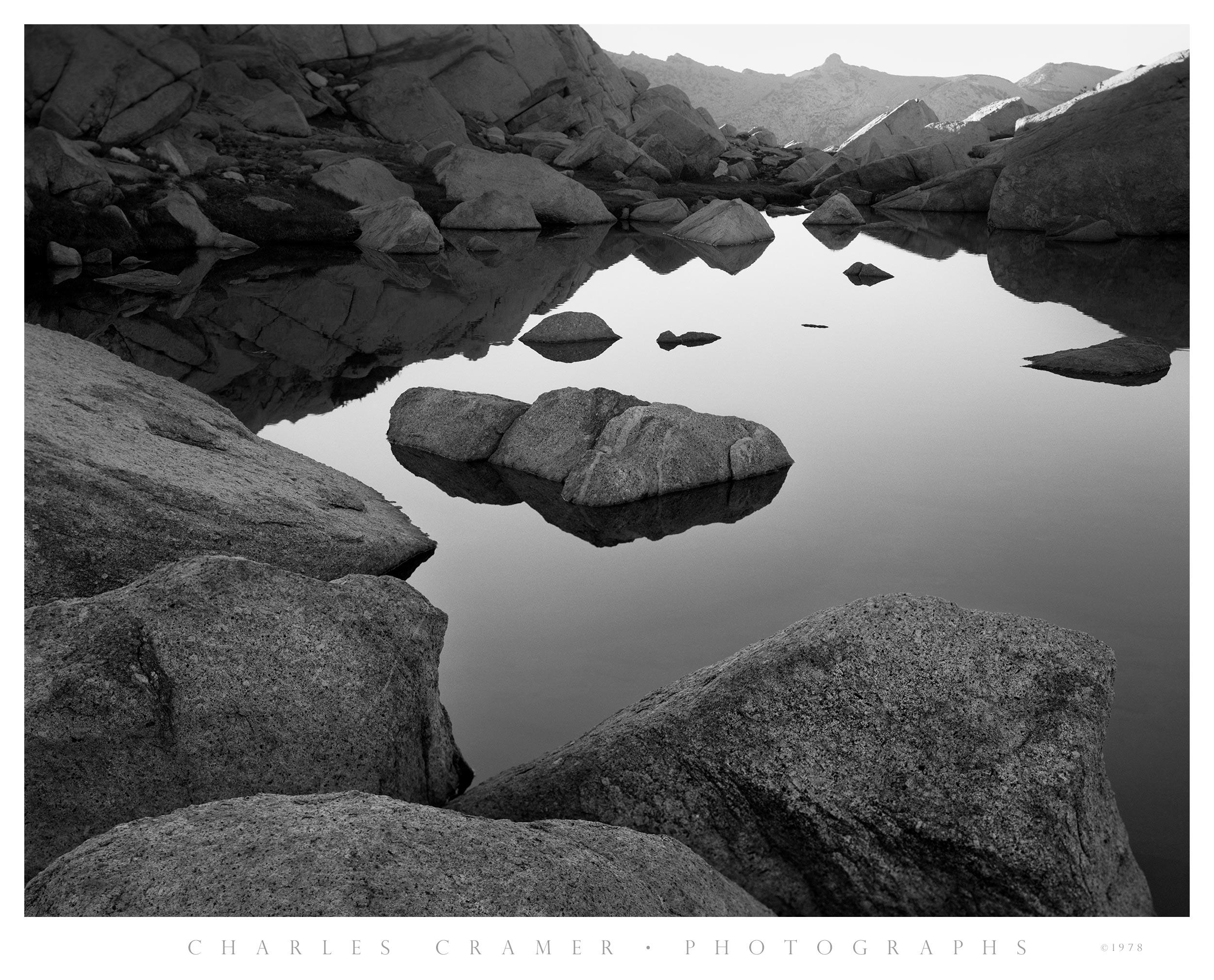 Pond, Evening, near Vogelsang Pass, Yosemite