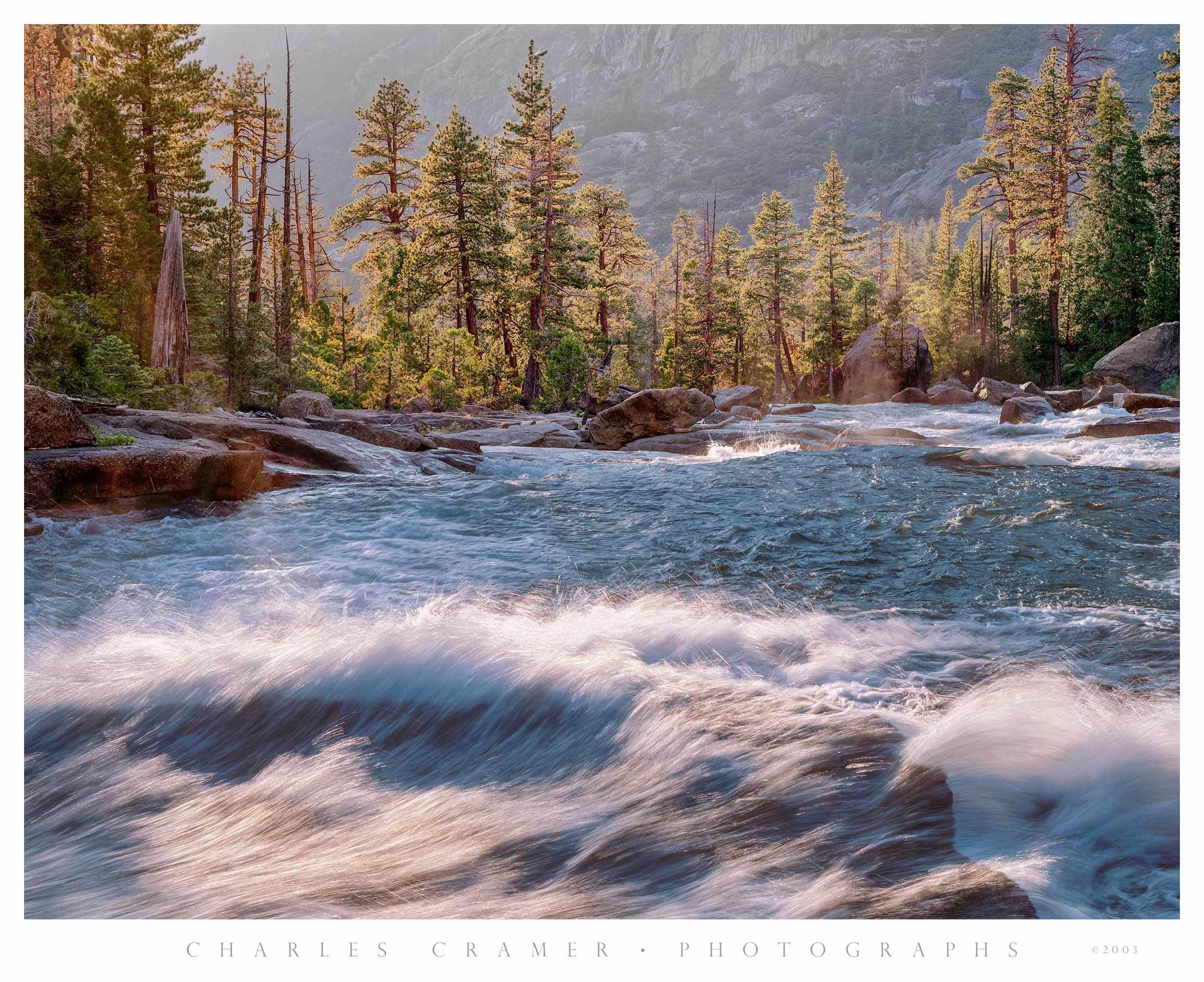 Tuolumne River, below Waterwheel Fall, Yosemite