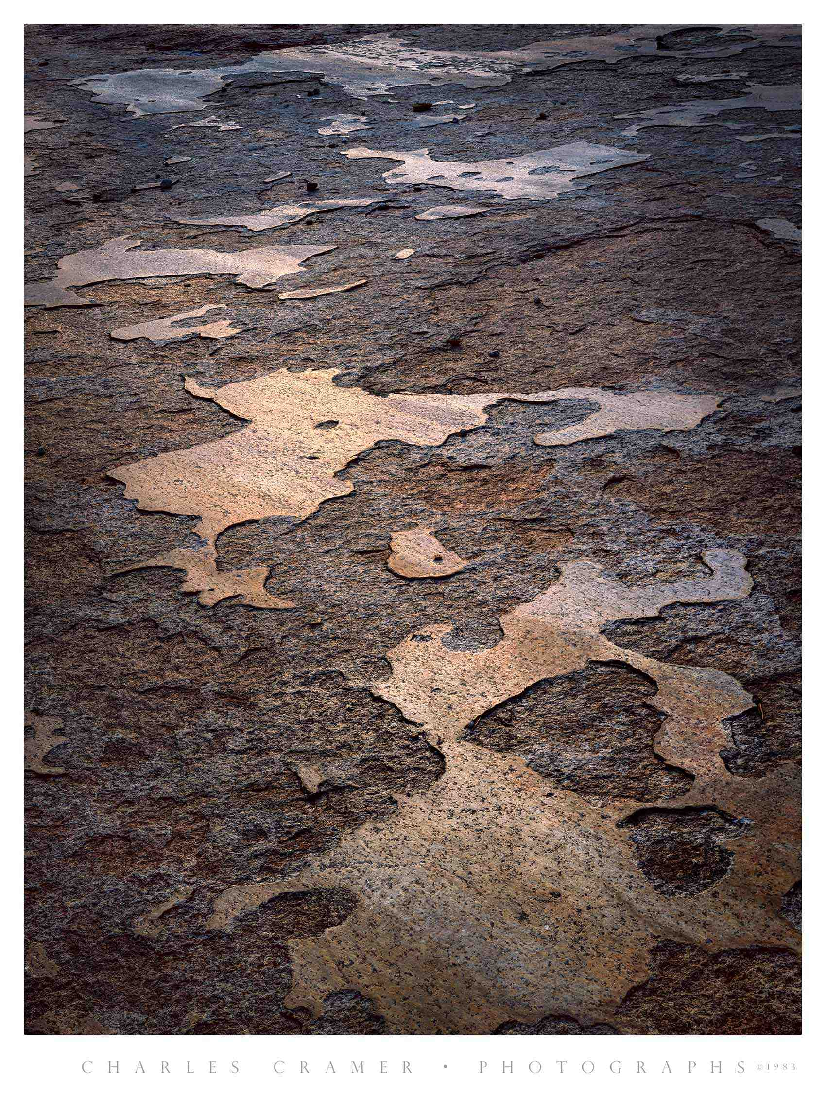 Glacial Polish, Glen Aulin, Yosemite 1982